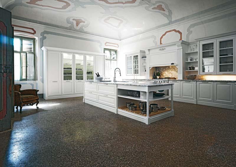 Cucine classiche - Cucine classiche bianche ...