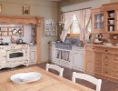 Cucina country castagno naturale