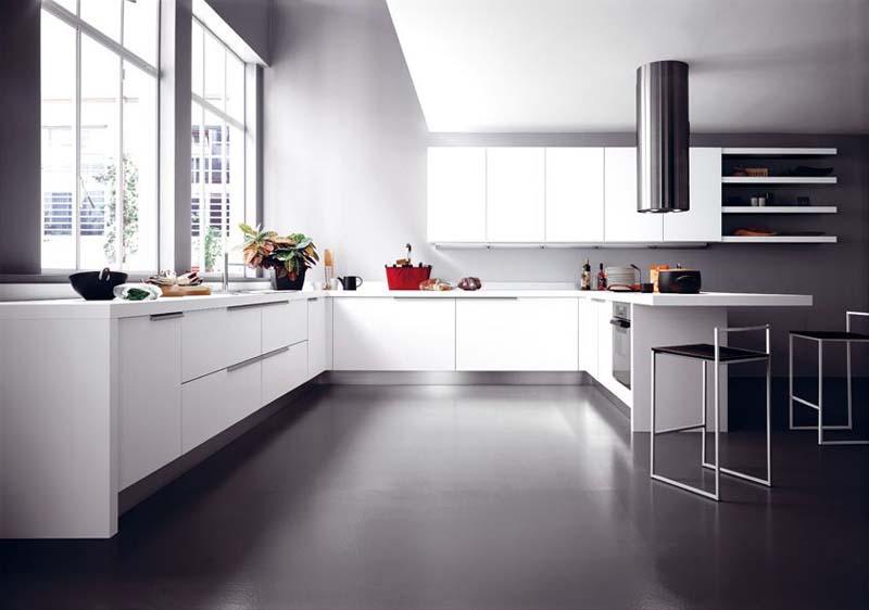 Cucine moderne in laminato e in rovere os ma for Cucine immagini