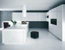 Cucina moderna laccata e vetro