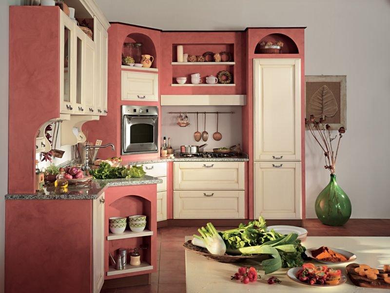 Cucina muratura laccata - Cucine in finta muratura ...