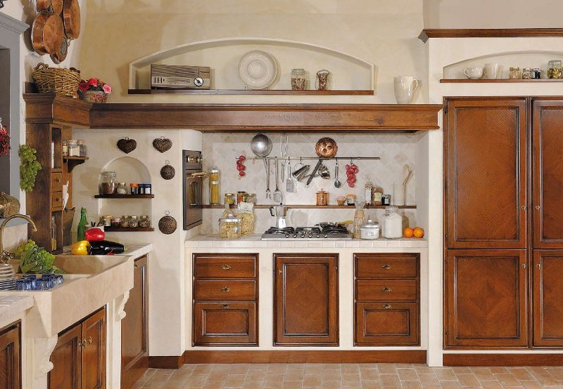 Casa moderna roma italy cucine in finta muratura roma - Cucine in muratura genova ...