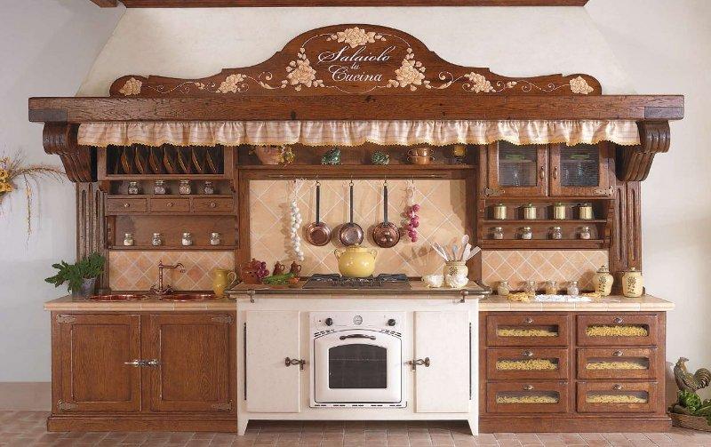 galleria fotografica cucine rustiche