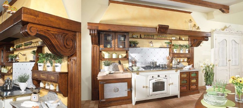 Awesome Cucine Di Campagna Rustiche Gallery - Ideas & Design 2017 ...
