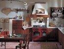 Cucina rustica castagno