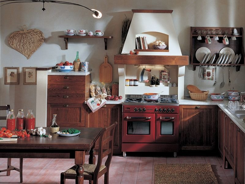 Cucina rustica castagno - Cucine rustiche toscana ...