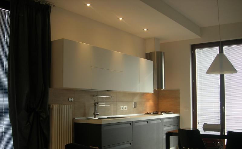 Illuminazione Ingresso Faretti: Illuminazione led casa lelide torino.