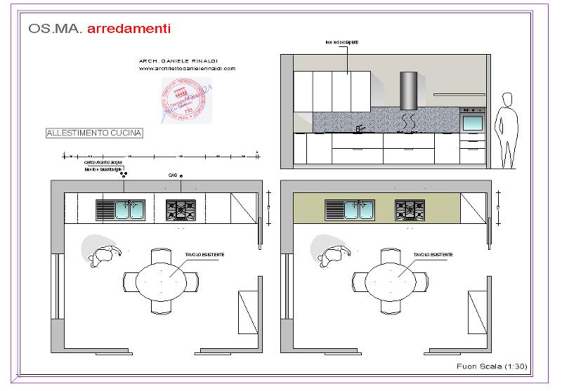 Progetta cucine arredamento laboratorio milano laboratorio zanco with progetta cucine schema - Misure cucine in muratura ...