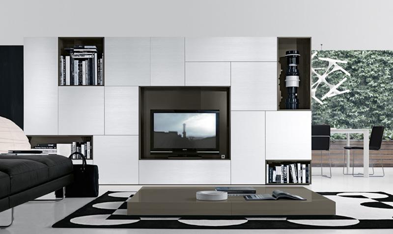 Soggiorni moderni imola pareti attrezzate e mobili ronchi