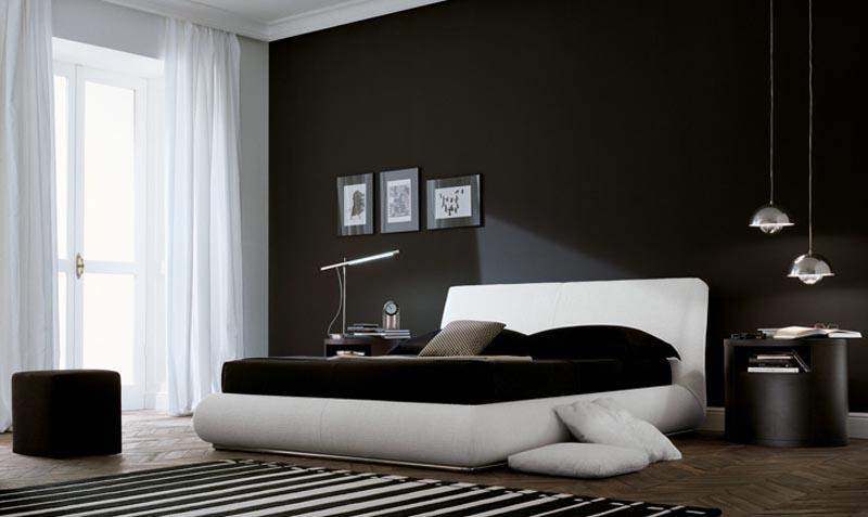 Camera da letto moderna 4